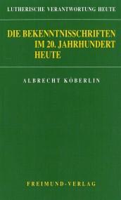 Bekentnisschriften Köberlin Cover