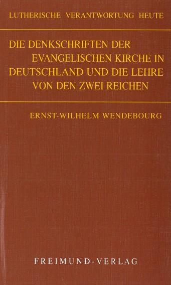 Denkschriften Wendebourg Cover